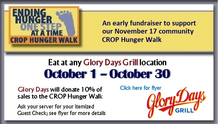 Glory Days Fundraiser until December 31